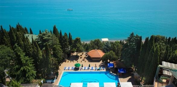 Отдых вАлуште наберегу Черного моря вSPA-отеле «Море»