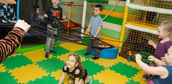 Посещение детской игровой комнаты или VR-комнаты Happy Panda