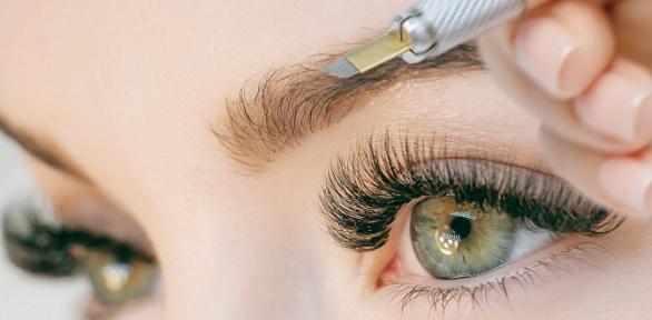 Перманентный макияж век, бровей, губ всалоне красоты Quick Beauty Studio