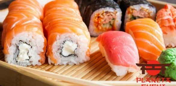 Заказ сета отслужбы доставки ресторана «Планета суши»