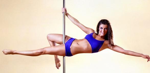 Занятия Pole Dance Exotic, растяжкой вшколе Perfect Pole