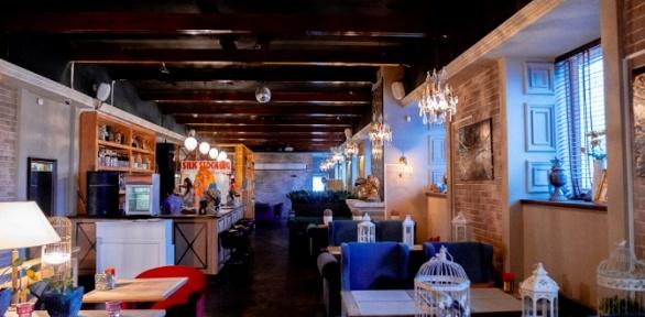 Блюда кухни, напитки, паровые коктейли вEfir Lounge
