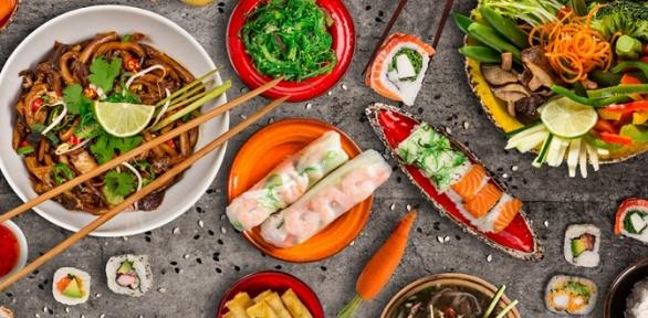 Роллы, wok, пицца отдоставки «Суши-рис» заполцены