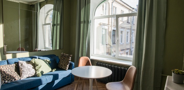 Отдых вцентре Санкт-Петербурга вапартаментах «НаГороховой, 33»