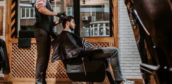 Мужская стрижка, оформление бороды иусов вбарбершопе «5стрижек»