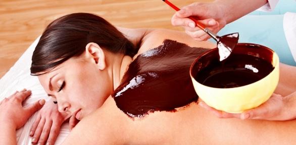Шоколадное обертывание либо виски-пеленание вмедцентре «Рефлекс Плюс»
