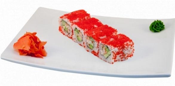 Набор суши отресторана доставки Susumi Sushi заполцены