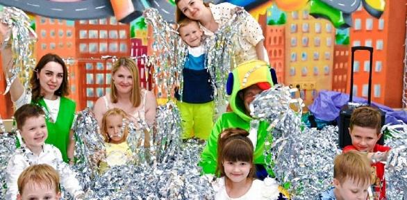 Посещение детской игровой комнаты «ГородОК_Адлер»