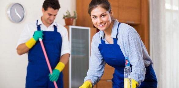 Уборка квартиры, мытье окон отклининговой компании «Уют»