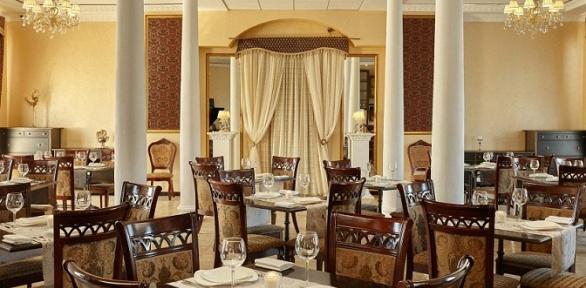 Ужин вресторане отеля «Никитин»