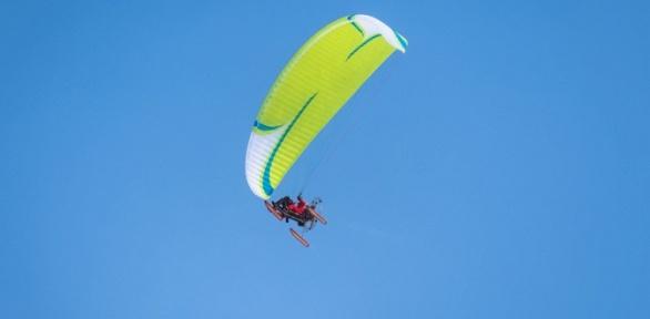 Полет синструктором напараплане отклуба «Мечта летать»