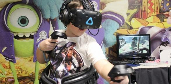 30или 60минут игры вшлеме виртуальной реальности откомпании Viar Point