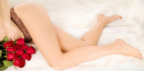 Шугаринг зоны глубокого бикини вкосметологическом кабинете «Молодость»