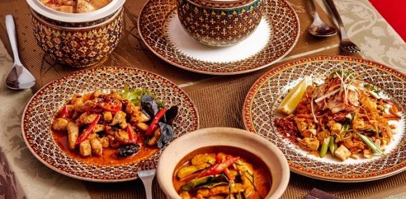 Ужин откафе тайской кухни ThaiwayFood