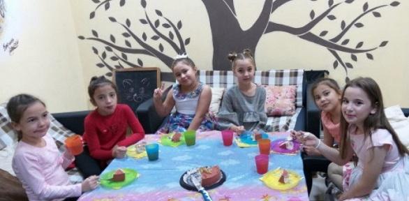 Проведение детского праздника отагентства «Киви Кидс»