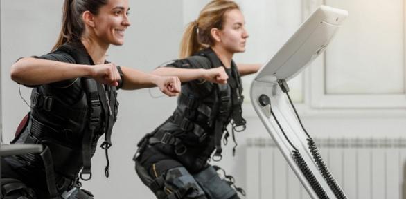 До24занятий фитнесом наEMS-тренажере встудии Art Studio EMS