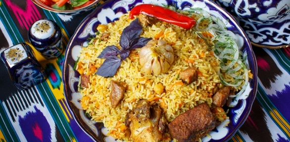 Тематический узбекский ужин вкомплексе «Хлопок»