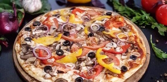Пицца откафе «Простые рецепты»
