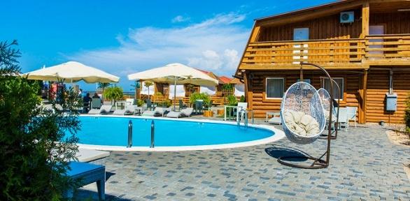 Отдых наАзовском морес посещением бассейна вотеле Family SPA Resort4*