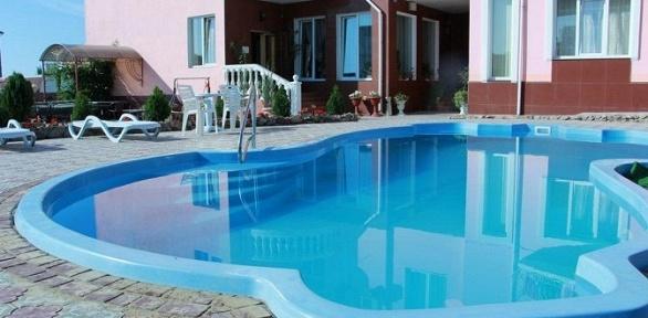 Отдых вКрыму ссентября спосещением бассейна вотеле Villa Classic