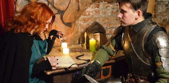 Участие вквест-игре «Замок дракона» для команды отквеструма QuestHall