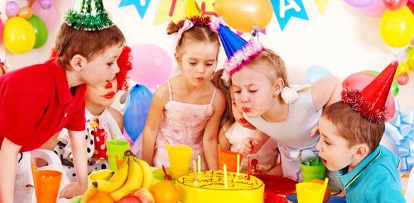 Праздник слазерным или бумажным шоу вдетском event-клубе Party Point
