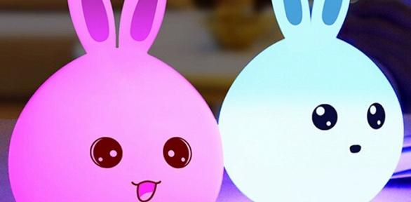 Лампа-ночник Rabbit Silicone Lamp