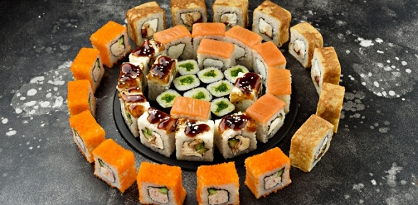 Суши-сет отслужбы доставки «Инари»