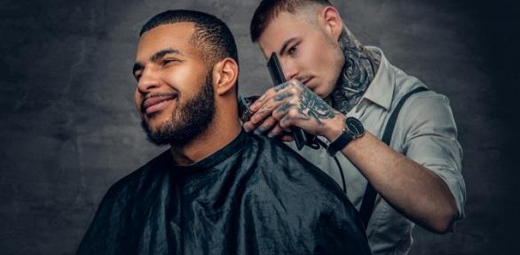 Детская или мужская стрижка, моделирование бороды встудии Zoro