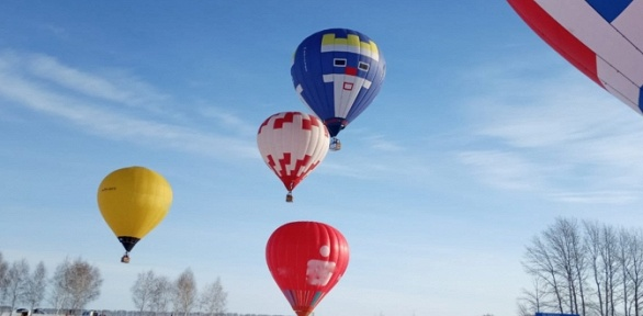 Полет навоздушном шаре откоманды «Три короля»