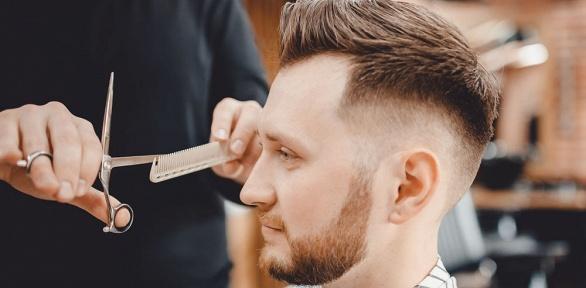 Стрижка, оформление бороды вбарбершопе «Площадка»