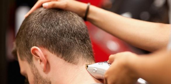 Мужская стрижка имоделирование бороды отбарбершопа Idrisbarber