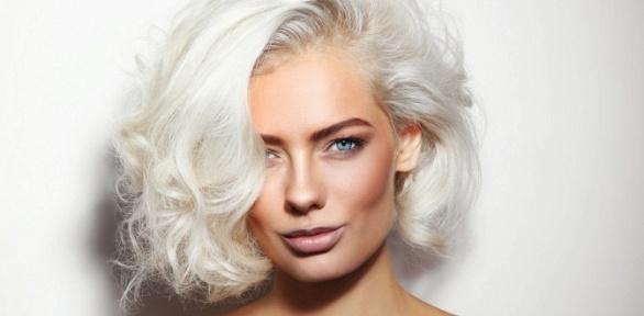 Стрижка, сложное окрашивание иукладка волос всалоне красоты «ЛяБелль»
