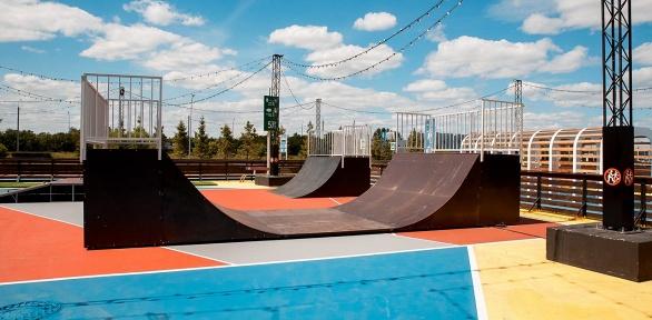 Прокат роликов, скейта, самоката, гироскутера отроллердрома «Актив Парк»