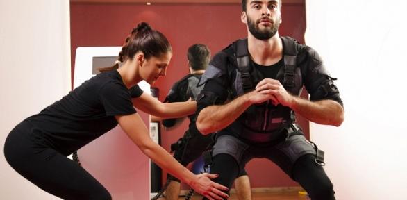 Посещение EMS-тренировок либо занятий вольной борьбой вспортклубе «Эрудит»