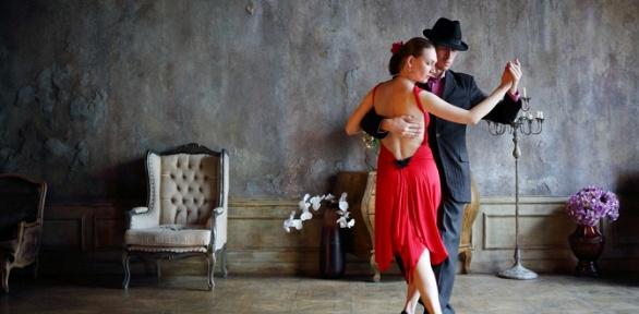 Занятия танго вшколе «Дом танго»
