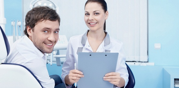 УЗ-чистка зубов, чистка AirFlow вклинике «Моя стоматология»