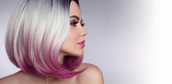 Стрижка, окрашивание ипроцедуры для волос встудии красоты «Баунти»