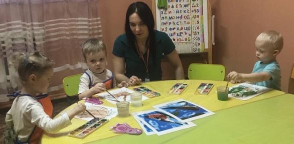 Развивающие занятия для детей вдетском центре «Островок детства»