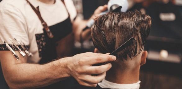 Мужская стрижка или детская стрижка в«Barbershop Опасная бритва»