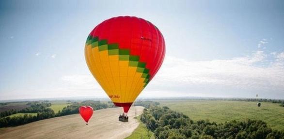 Полет навоздушном шаре отклуба «Аэронавтика»