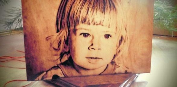 Выжигание картины или портрета подереву