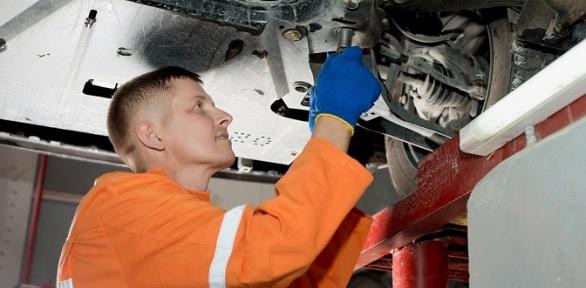 Регулировка развала-схождения осей автомобиля вавтотехцентре «Рупасово»