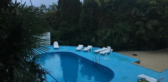 Отдых в Сочи на берегу Черного моря с завтраками в отеле Allure of the Sea