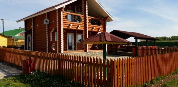 Отдых для компании до21человека втурцентре «Русская деревня»