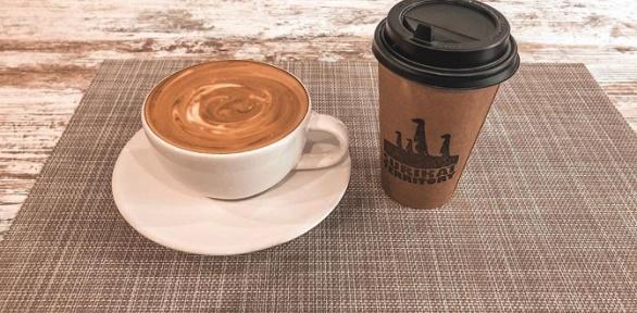 Кофе в кофейне Surikat Territory
