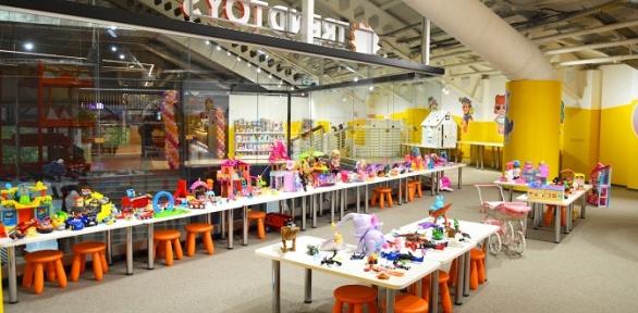 Посещение детской интерактивной игровой комнаты отсети Trend Toys