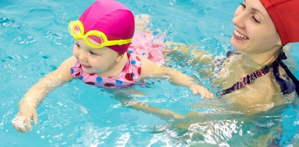 Занятия плаванием для детей «Мама ималыш» отSport Family Club