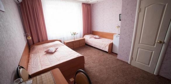 Отдых вгостиничном номере вотеле «Оазис»