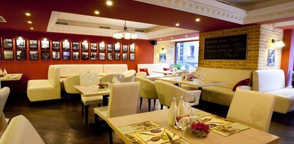 Всё меню, напитки навыбор витальянском ресторане Casa DiMosca заполцены